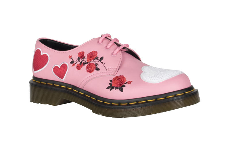 16a68f78780d Dr. Martens Valentine s Day Rebel Heart Boots Shoes Satchel Bag Pink Black