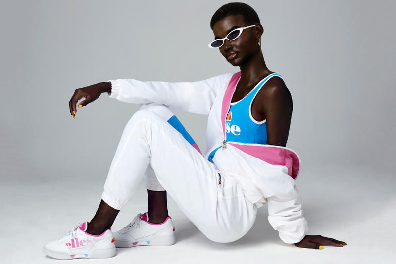 ellesse SS19 Campaign Shudu Digital CGI Model Influencer Misty