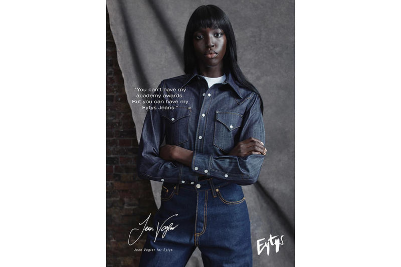 Eytys Spring Summer 2019 Denim Campaign Jeans Top Blue