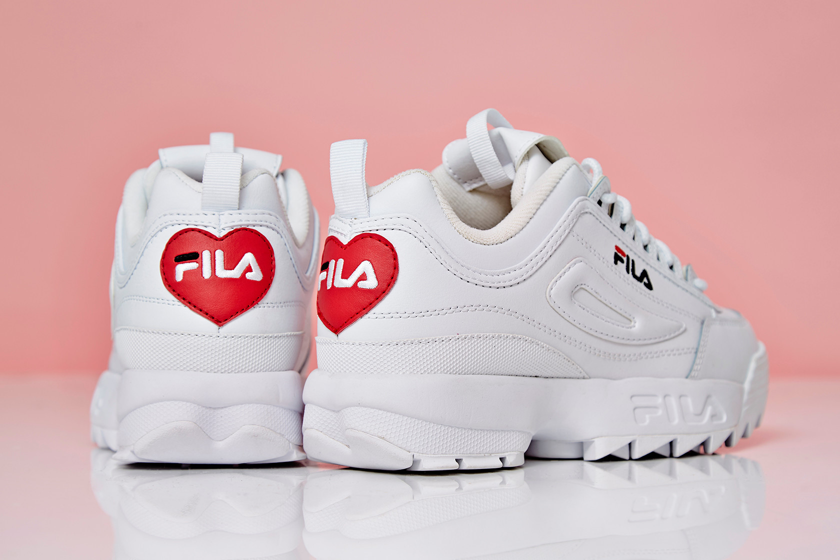 FILA Disruptor Heart Valentine's Day