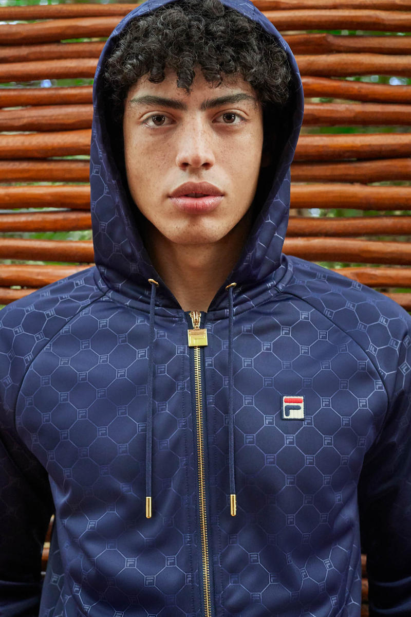 FILA Spring Summer 2019 Collection Lookbook Jacket Navy