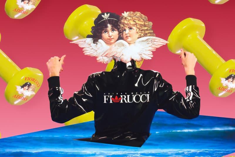 Fiorucci x adidas Originals Collection Vinyl Jacket Black