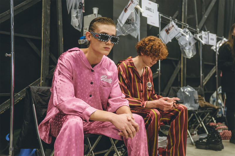 gcds milan fashion week fw19 fall winter 2019 backstage
