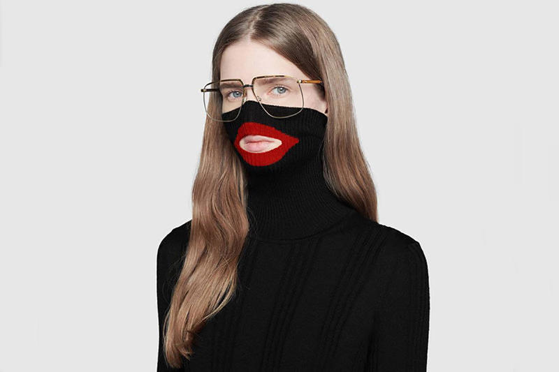 Gucci Blackface Balaclava Sweater Apology