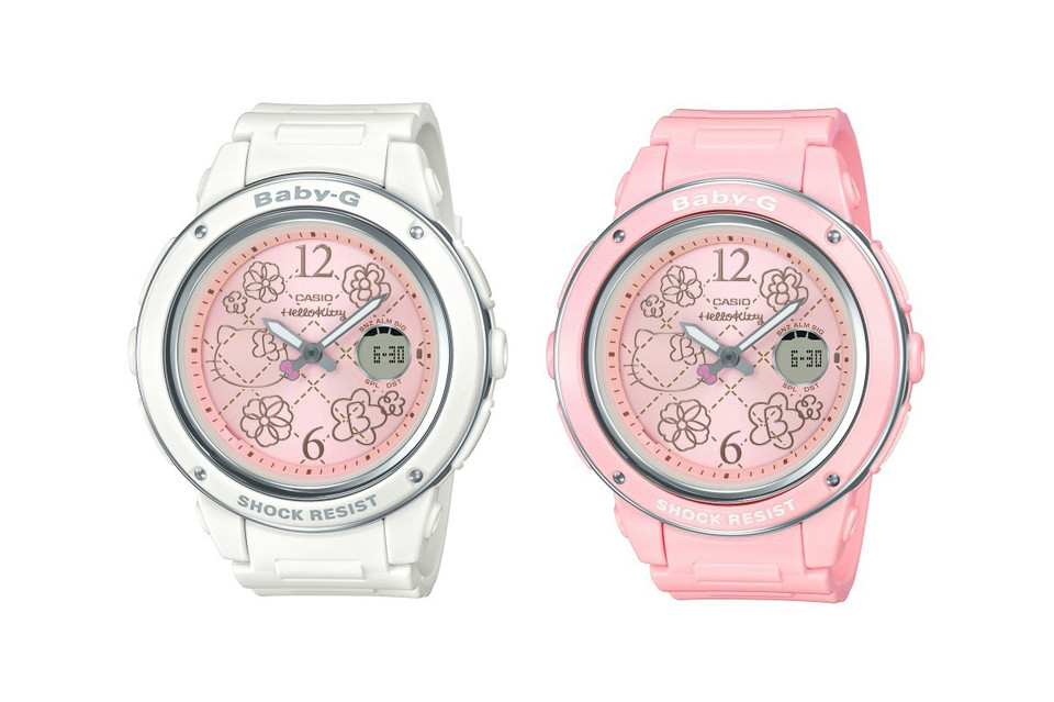87b975d7c06a Baby-G Unveils a Limited-Edition Hello Kitty Timepiece Collection