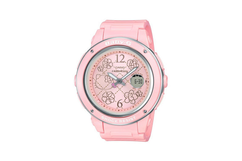 Hello Kitty x Baby-G Watch Collection Pink