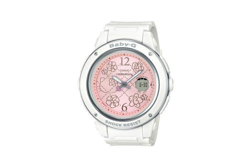 Hello Kitty x Baby-G Watch Collection White