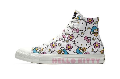 Hello Kitty x Converse Just Dropped Customizable Chuck Taylors b7b612617