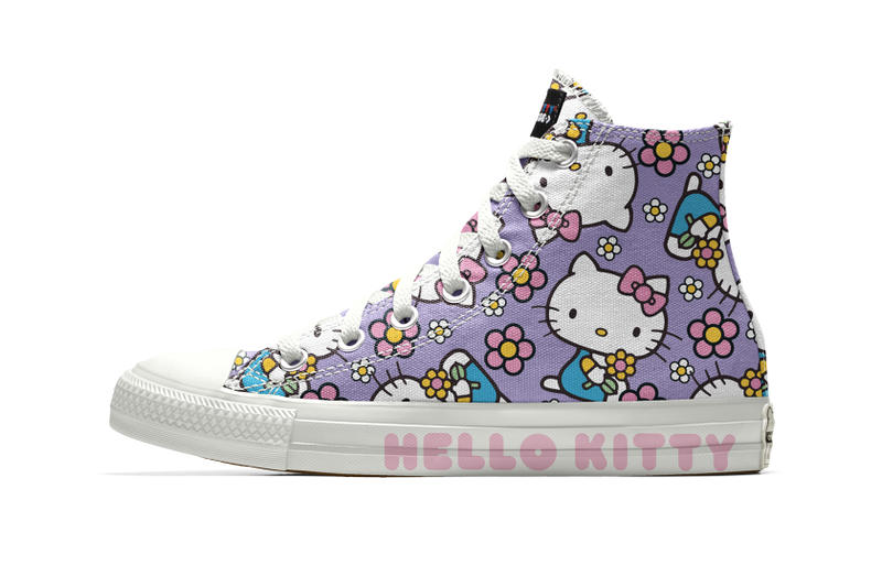 Customize Personalize Hello Kitty Converse Chuck Taylor NIKEiD