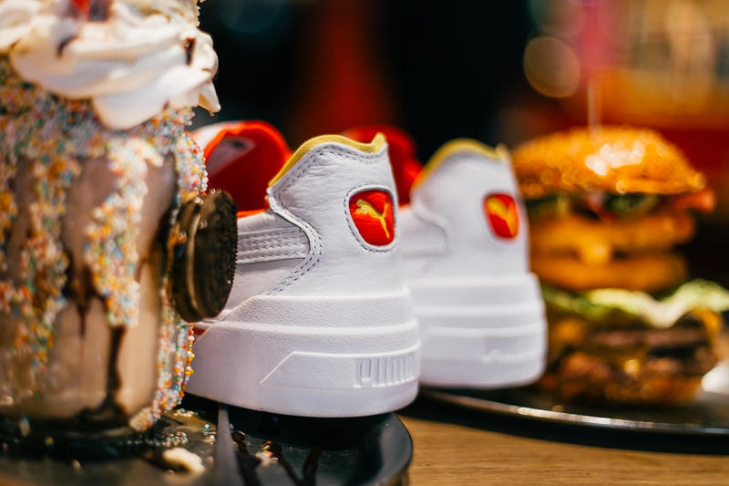 puma cali drive thru yellow red fast food california collaboration