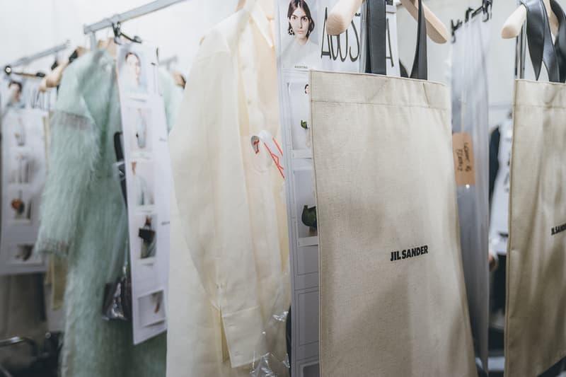 Jil Sander Fall Winter 2019 Runway Show Backstage Milan Fashion Week Asian Models