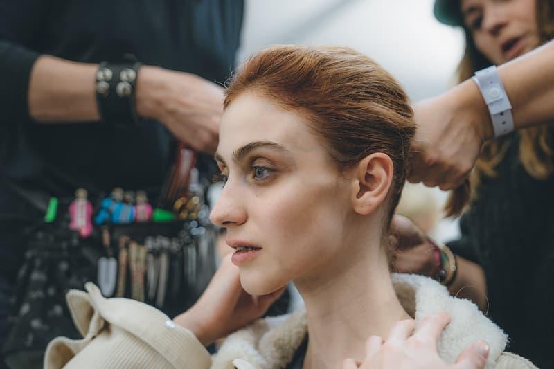 Jil Sander Fall Winter 2019 Runway Show Backstage Milan Fashion Week Beauty Hair makeup
