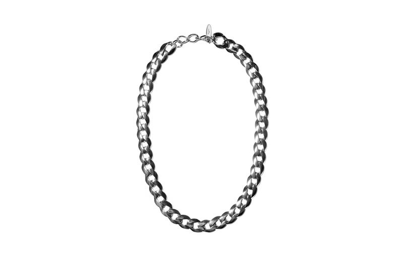 John Elliott x M.A.R.S Jewelry Collection Chain Necklace Silver