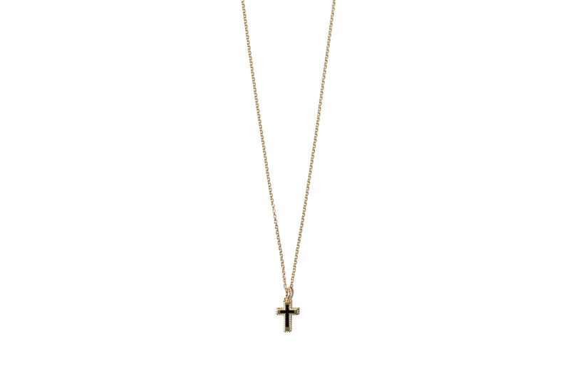 John Elliott x M.A.R.S Jewelry Collection Cross Necklace Gold