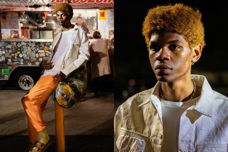 John Elliott Spring Summer 2019 Lookbook Jacket White Pants Orange