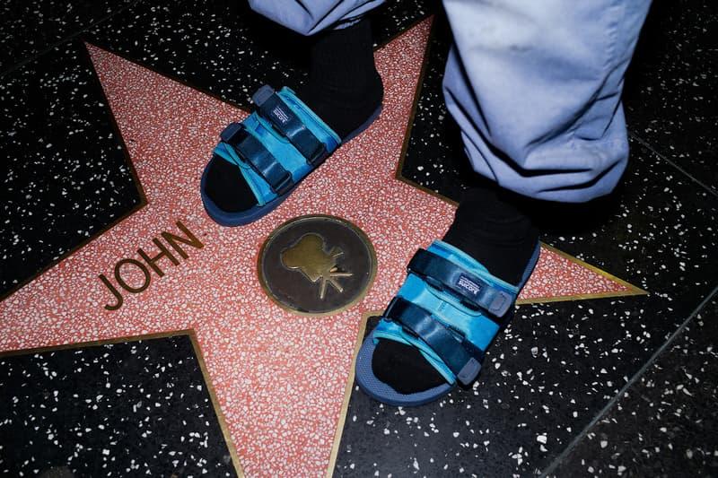 John Elliott Spring Summer 2019 Lookbook Sandals Teal Purple