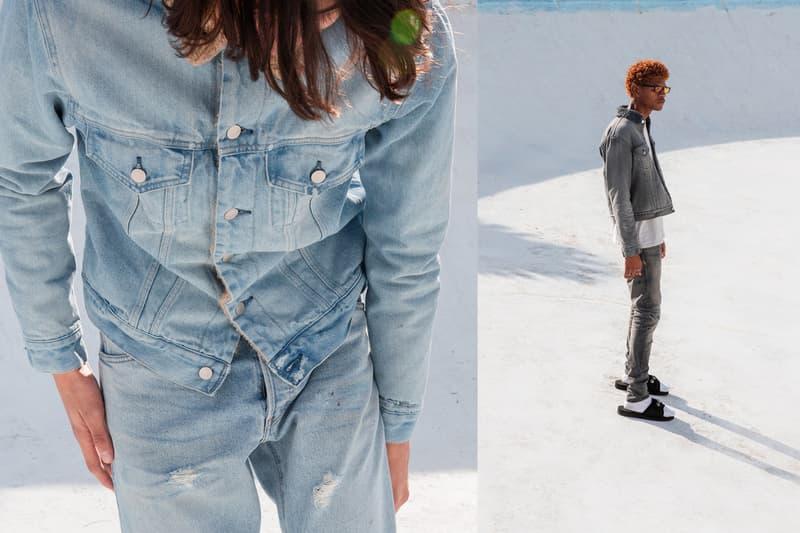John Elliott Spring Summer 2019 Lookbook Jackets Jeans Blue