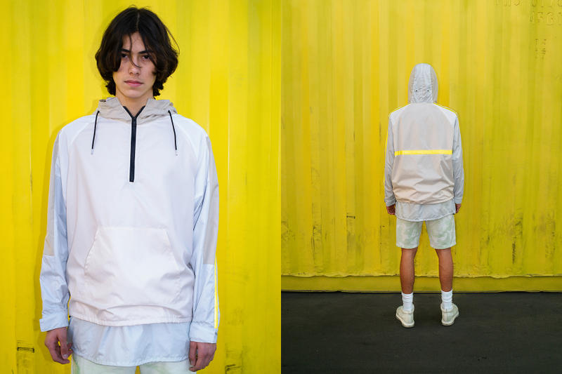 John Elliott Spring Summer 2019 Lookbook Hoodie Shorts Grey
