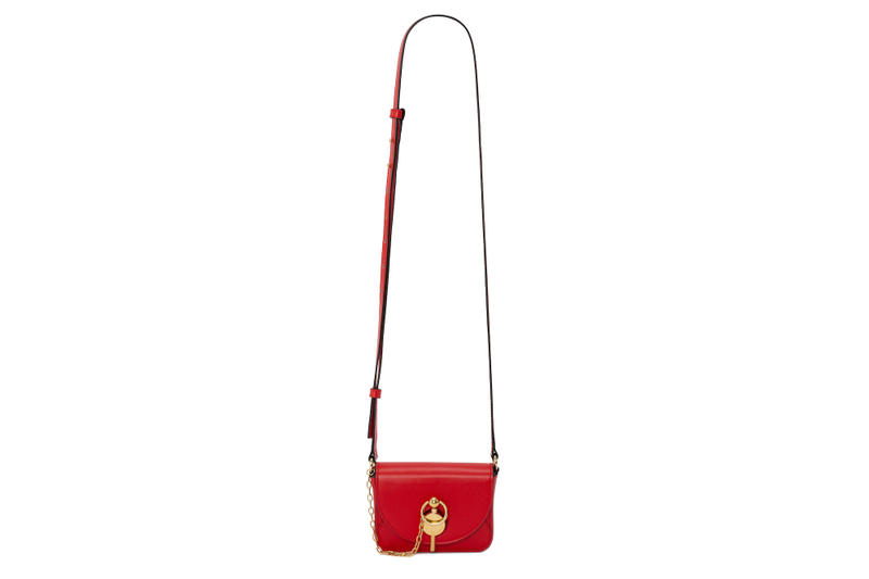 JW Anderson SS19 Spring Summer 2019 KEYTS Bag Release Color Leather Purse Gold Hardware Key Logo Red Yellow Black White Purple