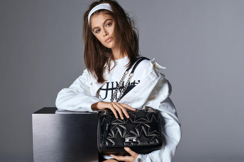 Kaia Gerber Fronts Jimmy Choo's SS19 Campaign Hoodie T-Shirt