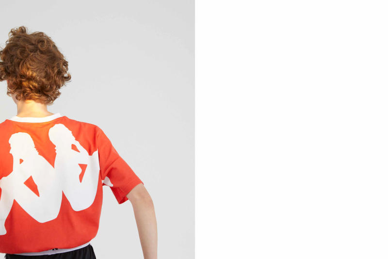 Kappa Kontroll Spring Summer 2019 Collection Lookbook Shirt Red White