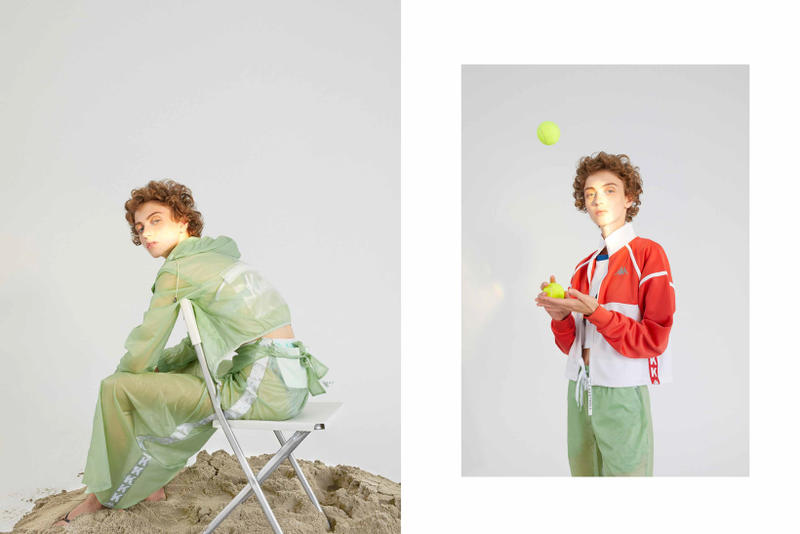 Kappa Kontroll Spring Summer 2019 Collection Lookbook Tracksuit Green Jacket Red White
