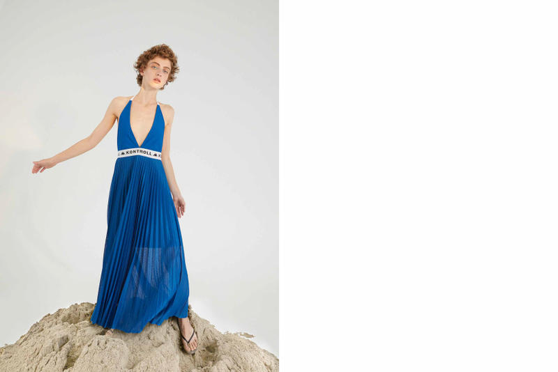 Kappa Kontroll Spring Summer 2019 Collection Lookbook Dress Blue