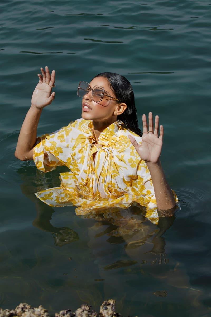 Karen Walker Euphoria Lookbook Nirvana Gold