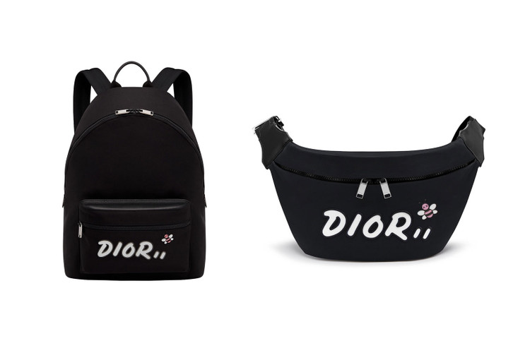 c65ddd6a KAWS x Dior's Backpack, Fanny Pack & T-Shirt Are Available Exclusively at  Nordstrom
