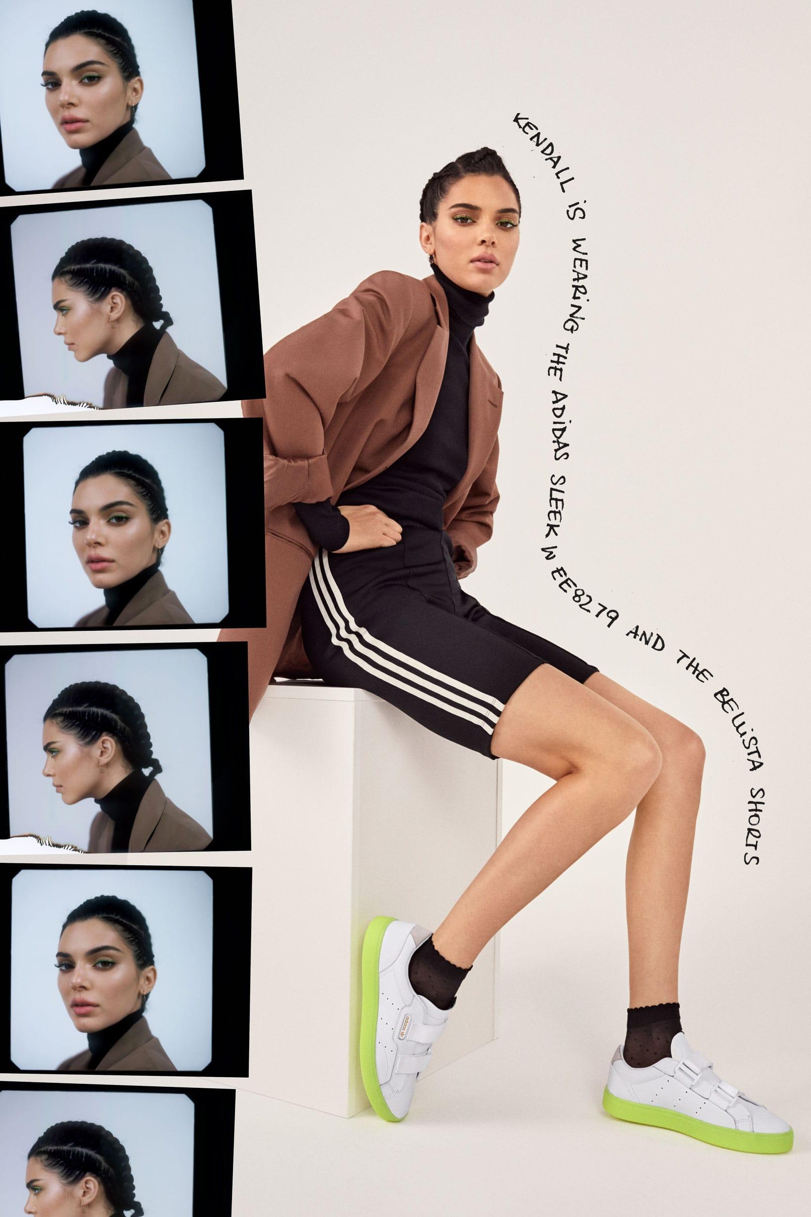 Kendall Jenner in adidas' SS19 Sleek