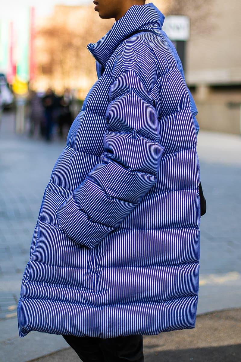 london fashion week fall winter 2019 fw19 street style streetsnaps gucci balenciaga jacquemus fendi vans raf simons