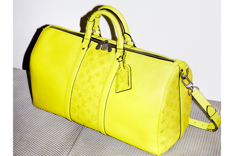 Cop Louis Vuitton's New Colorful Monogram Bags Backpack Suitcase Travel Keepall Yellow Blue LV Pattern Print Accessories