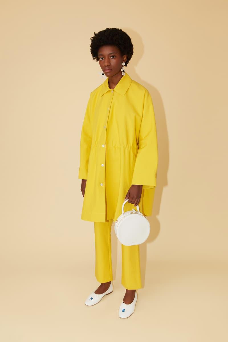Mansur Gavriel Spring Summer 2019 Lookbook Jacket Pants Yellow