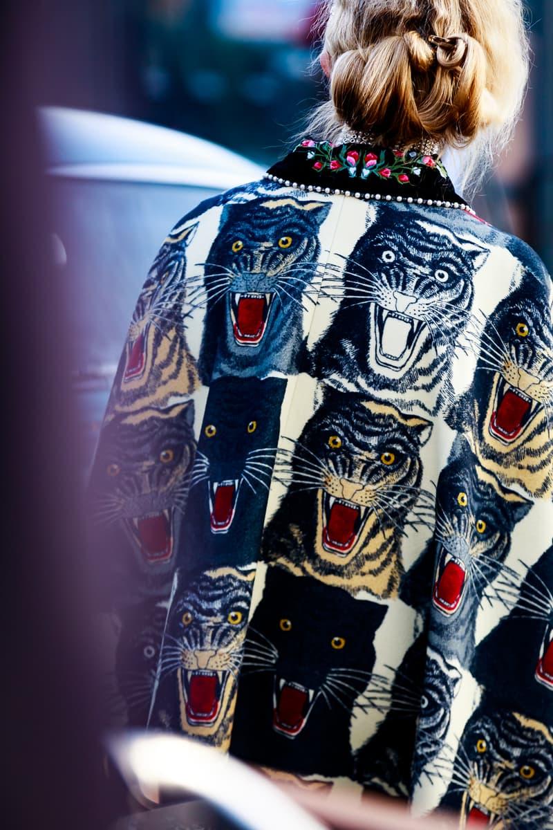 Milan Fashion Week Fall/Winter 19 Street Style Streetsnaps Looks FW19 MFW Chanel Gucci Fendi Vetements