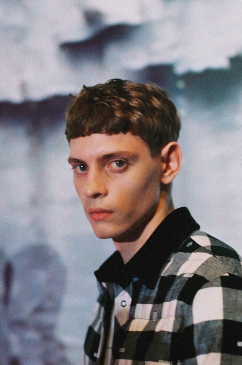 Milan Fashion Week FW19 Backstage Photo Series Jonathon Smith Male Model