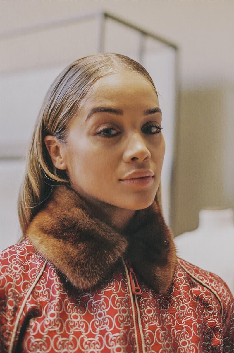Milan Fashion Week FW19 Backstage Photo Series Jonathon Smith Jasmine Sanders Fendi