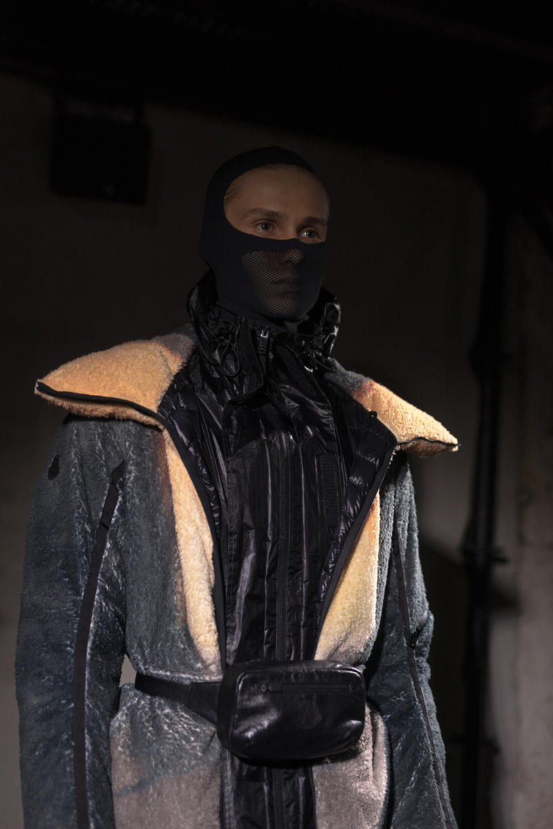 moncler genius milan fashion week presentation alyx matthew williams collaboration mask