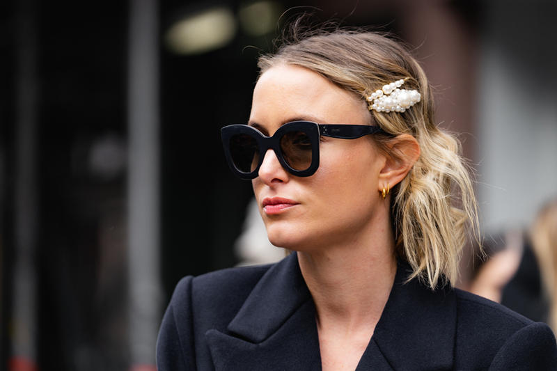 New York Fashion Week Fall Winter 2019 Street Style Snaps Sunglasses Black