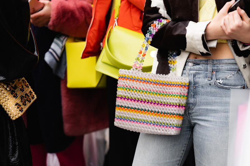 New York Fashion Week Fall Winter 2019 Street Style Snaps Bags Susan Alexandra Clear Leopard Print