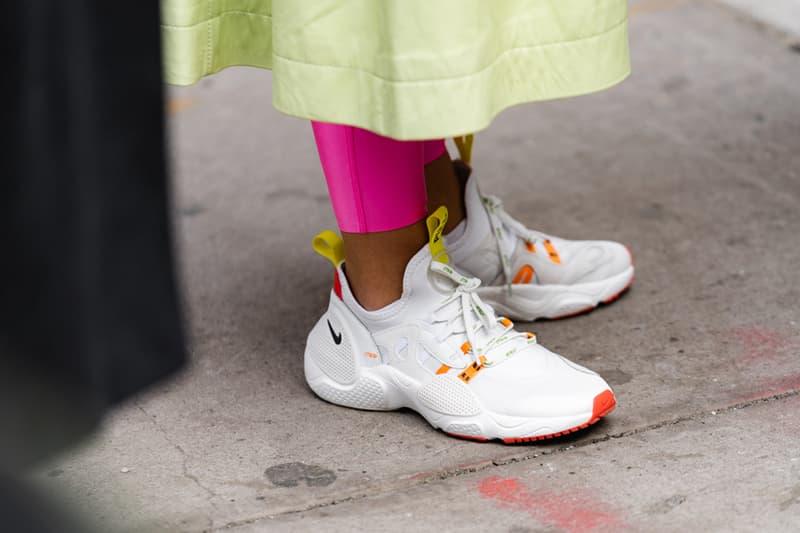 New York Fashion Week Fall Winter 2019 Street Style Snaps Nike White