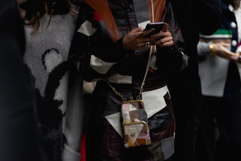 New York Fashion Week Fall Winter 2019 Street Style Snaps Bag Coat Brown
