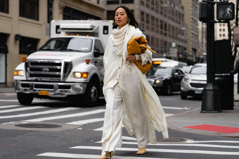 65e74197703 Our Favorite Street Style Looks From New York Fashion Week FW19. Fendi,  Dior and Nike reign supreme amongst this crowd.