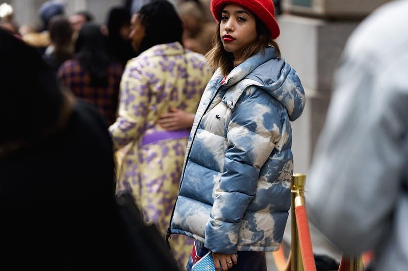 new york fashion week nyfw fall winter 2019 fw19 street style bloggers influencers puffer jacket