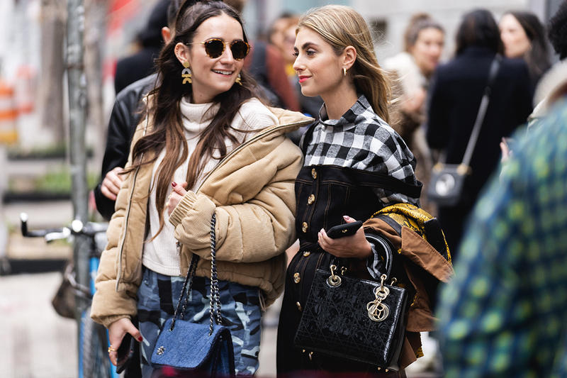 new york fashion week nyfw fall winter 2019 fw19 street style bloggers influencers dior lady bag