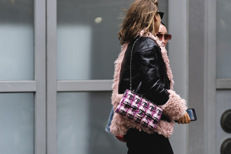 new york fashion week nyfw fall winter 2019 fw19 street style bloggers influencers chanel bag