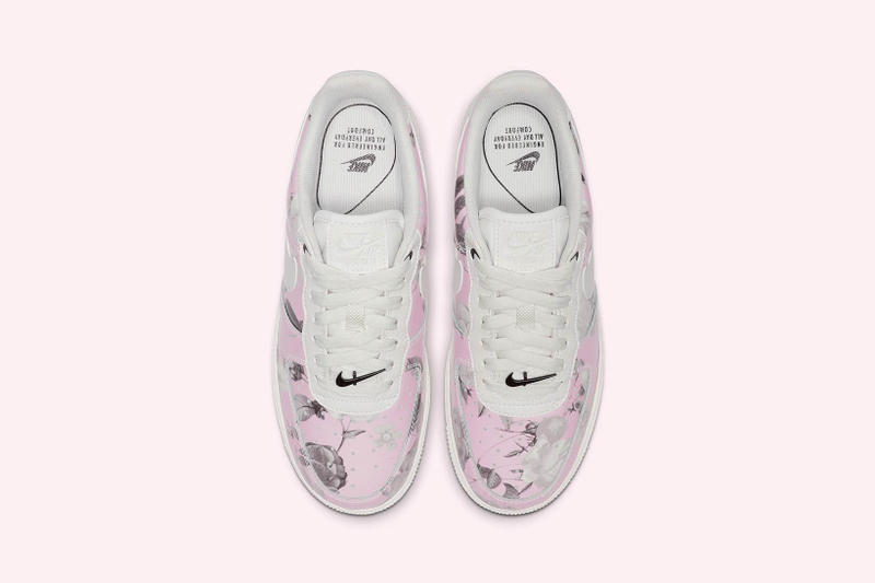 Nike Air Force 1 Floral Rose