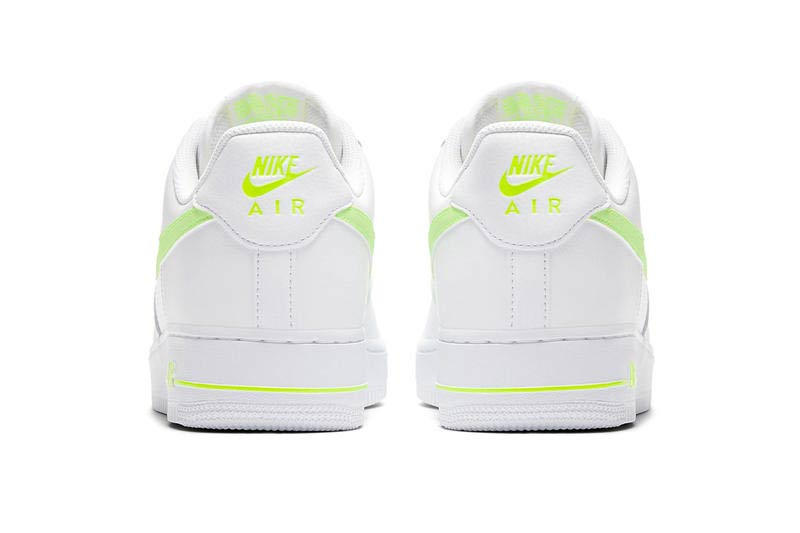 Nike Air Force 1 Mesh Leather Volt Grey Blue Black Red