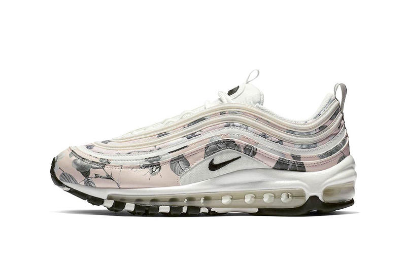 5bfc3f885bbd Nike Releases Air Max 97 in Pale Pink Floral