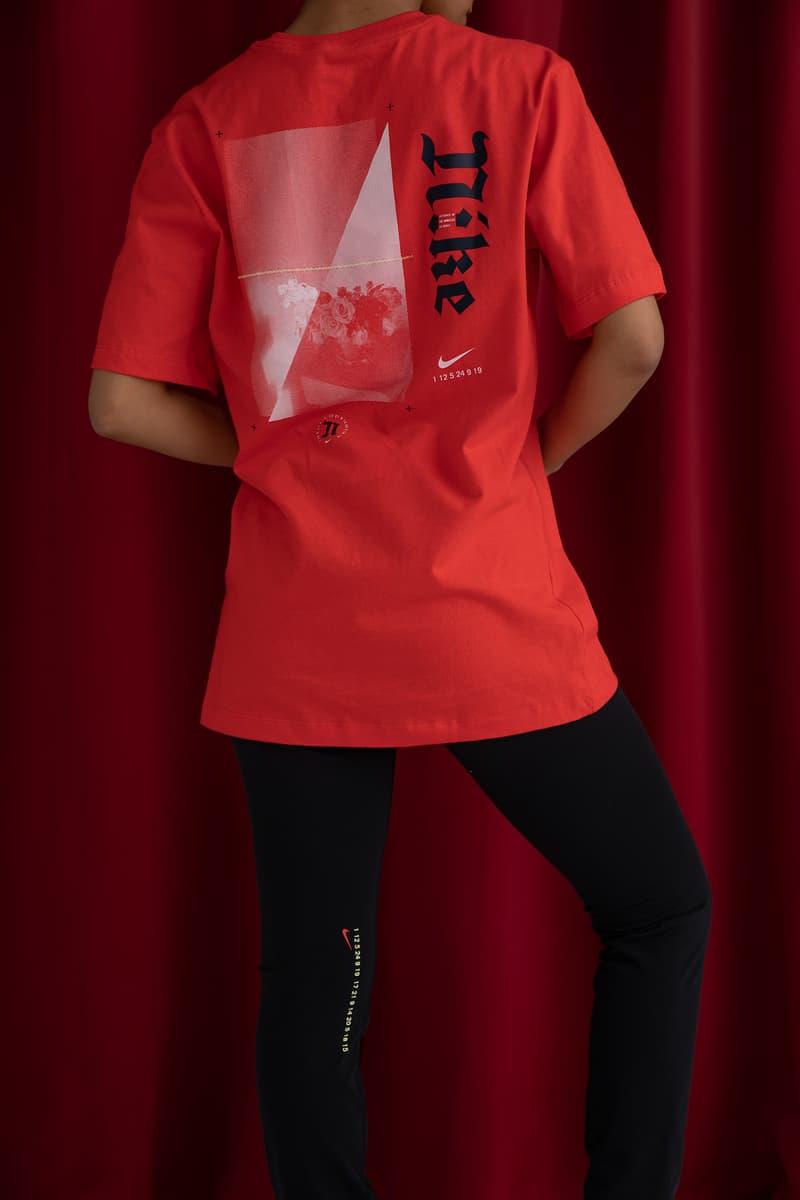 Alexis Quintero x Nike LA Editions Collaboration unisex men's Oversized Crew t-shirt tights leggings logo