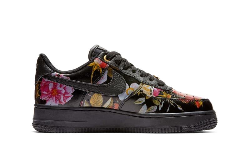 Nike All Star Weekend Floral Pack Air Force 1 Low Black